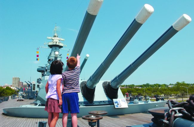 Top 10 Things to Do with Kids in Wilmington, NC- Battleship North Carolina