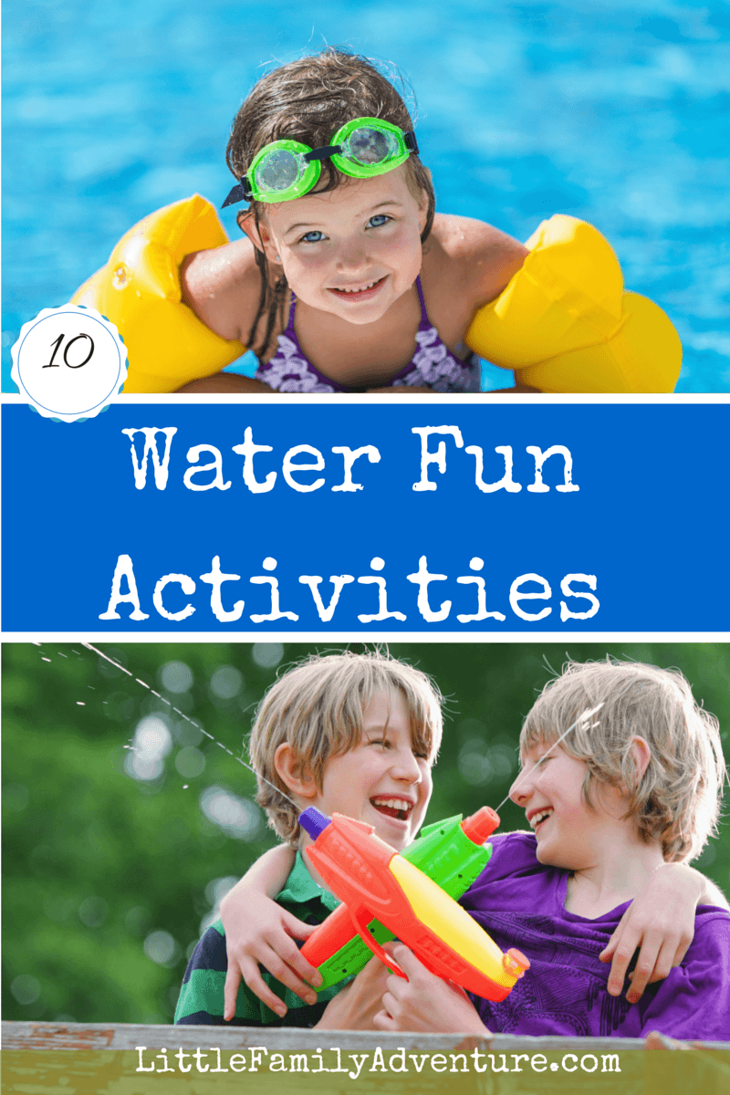 10 Water Activities for Kids