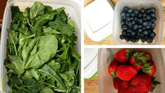 Produce in FreshWorks containers after 7 days - The Secret to Keeping Summer Produce Fresher Longer - Learn how you can keep fruits and vegetables longer without going bad and save too. Get our produce shelf life and storage infographic as well as take the #LongLiveProduce Challenge #ad
