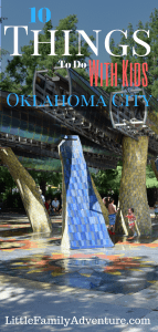 10 Family Fun Things to Do in Oklahoma City - Whether you're looking for staycation ideas or are visiting OKC, here are great attractions and sites you and your family will enjoy and want to visit again and again #seeokc #ad