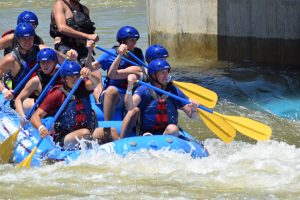 10 Family Fun Things to Do in Oklahoma City - Riversports OKC in the Boathouse District offers fun adventures zip lining, whitewater rafting, tubing, suspension trails, and more