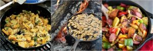 Healthy Cast Iron Camping Recipes