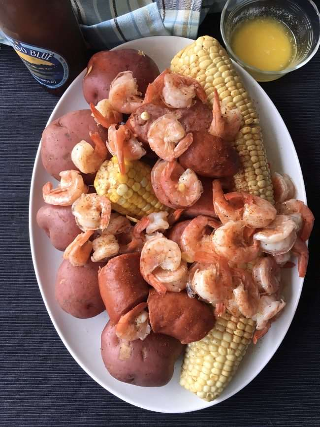 Low Country Boil - Perfect for Large Cookouts or a Family Campout