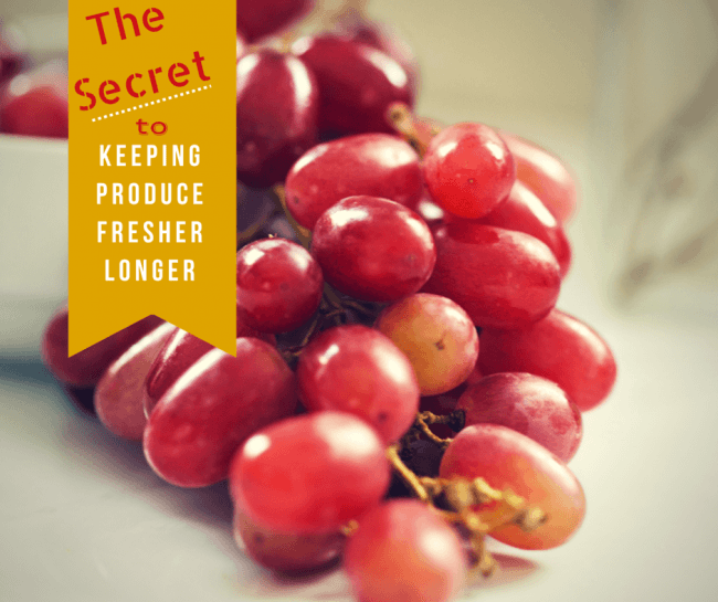 The Secret to Keeping Summer Produce Fresher Longer - Learn how you can keep fruits and vegetables longer without going bad and save too. Get our produce shelf life and storage infographic as well as take the #LongLiveProduce Challenge #ad