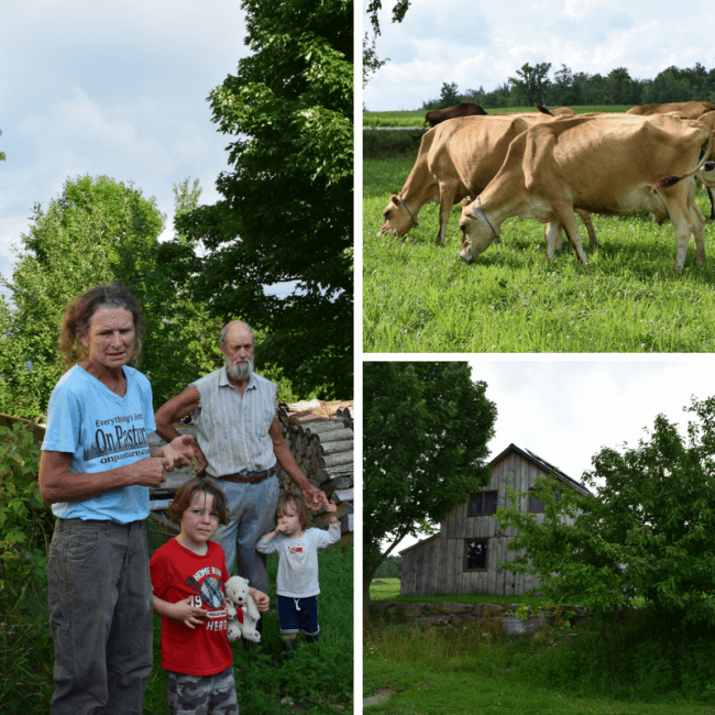 Take a Stonyfield Farm Tour - Organic Dairy Farms in Vermont - Green Wind Farm is a family farm transitioning to organic.