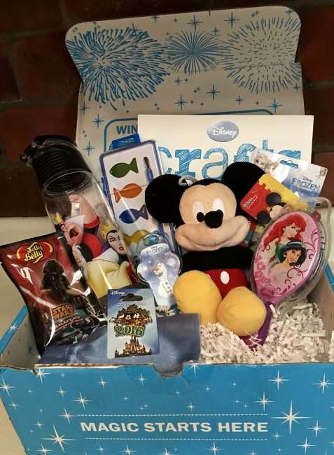 Get a like Disney Magic in your mail box each month with the Mickey Monthly Subscription Box. See our review for all the details and how you can get your own