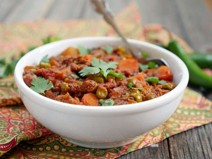 Instant Pot Ground Lamb Curry