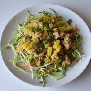 Instant Pot Pina Colada Chicken Recipe- AIP & Paleo