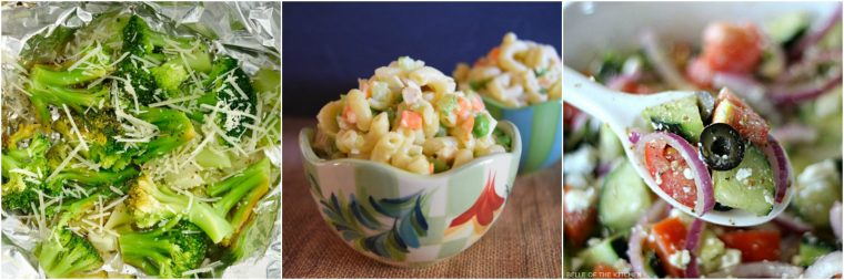 Healthy sides for camping