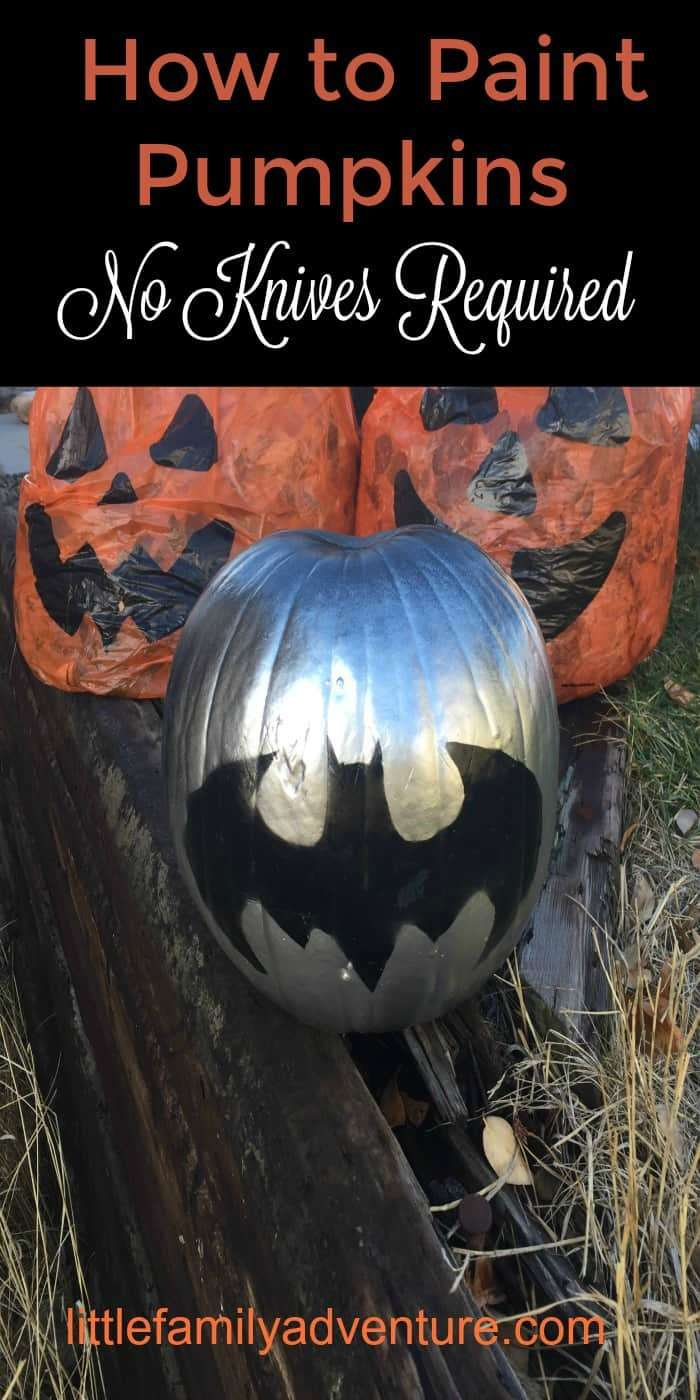 How To Paint Simple Pumpkins