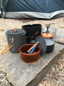 Gear Review - GSI Outdoors Pinnacle Dualist Complete - When you want a lightweight cooking solution for camping or hiking, this canister stove is the answer