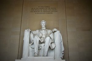 Lincoln Memorial - family fun in downtown Washington DC - family travel