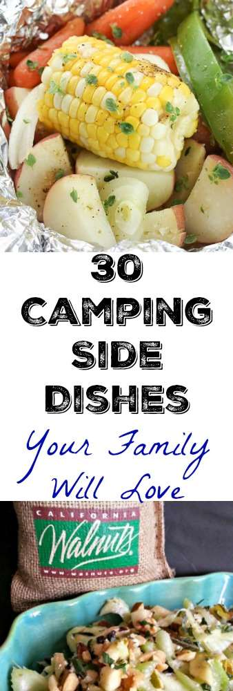 Camping Side Dishes that will rock your trip