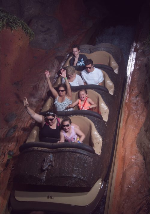 Splash Mountain Ride Picture