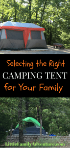 Questions to Ask When Selecting a Family Camping Tent
