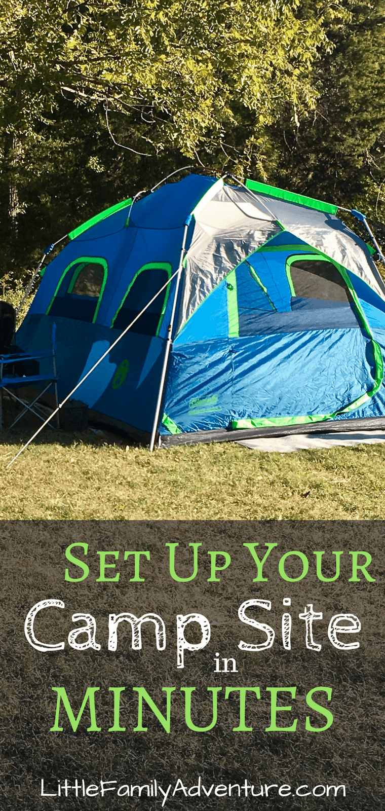 Coleman Instant Tent - Get outdoors more and set up camp in minutes with this camping tent from Coleman. See how easy it is to set up and help you rock your next camping trip.