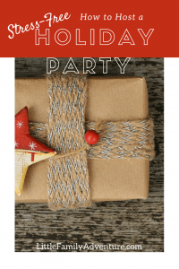 How to Host a Stress-Free Holiday Party - Tips to help you host a fun-filled holiday cookie exchange