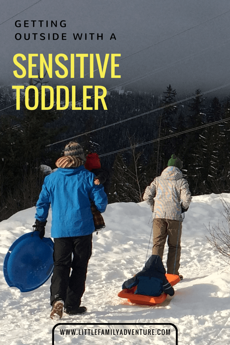 Winter with Sensitive Toddler