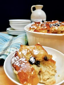 I've Got Your New Favorite Holiday Breakfast - Eggnog Bread Pudding - This simple recipe is so easy to make. Just a few ingredients you already have for the holidays and you'll be enjoying this delectable dish very soon. Perfect for Christmas morning, Sunday brunch, or for dessert with family.
