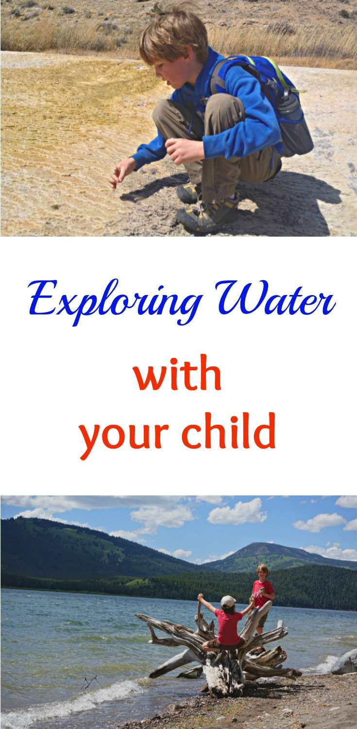 exploring water with your child