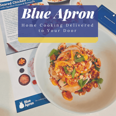Home Cooking Delivered to Your Door with Blue Apron Meal Kit