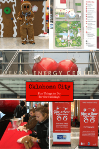 Holiday Things to Do In Oklahoma City - Saturdays with Santa sponsored by Devon is held at the Devon Tower. It's a holiday event filled with children's activities, decorations, and entertainment for all ages