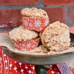 Snickerdoodle Muffins Recipe with Streusel Crumble Topping