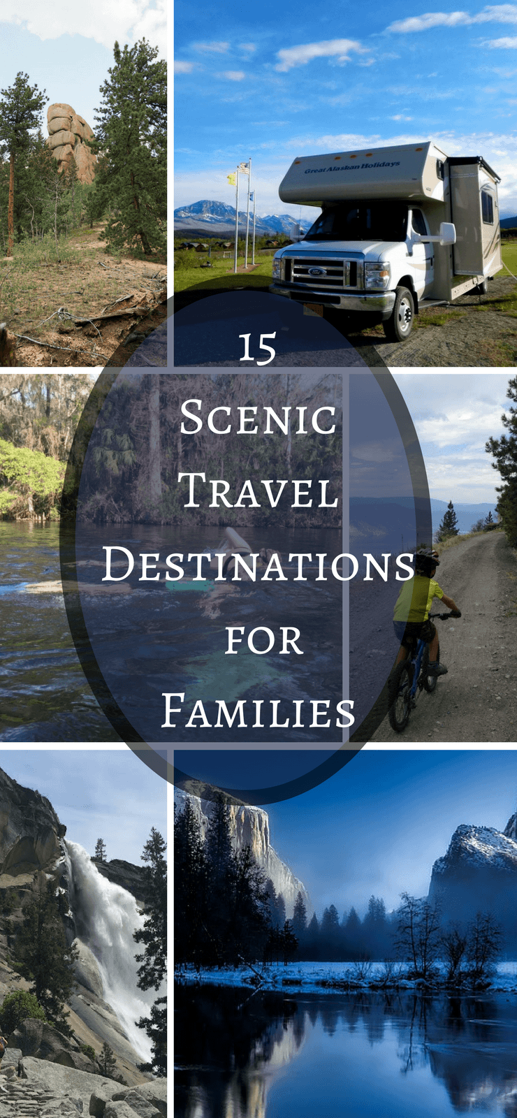 15 Best Vacations Spots for Outdoor Families - See where other outdoor families love to travel to and explore. These travel destinations will inspire you to get out and start exploring with your kids.