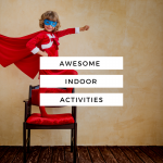 These awesome indoor activities are a life saver when it is 16 below. Kids especially high energy kids need physical movement in the winter even when it is too cold to venture outside.