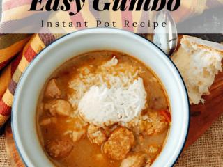 Easy Gumbo Recipe (Instant Pot recipe)