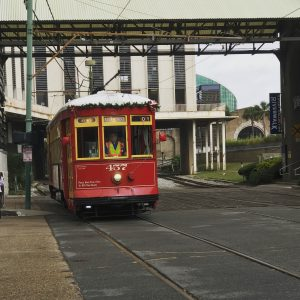 Best of New Orleans with Kids in 3 Days -The streetcar trolleys in NOLA are a great way to get around. Use the St. Charles line to explore the Garden District, Audubon Zoo, and the Cities of the Dead (cemeteries)