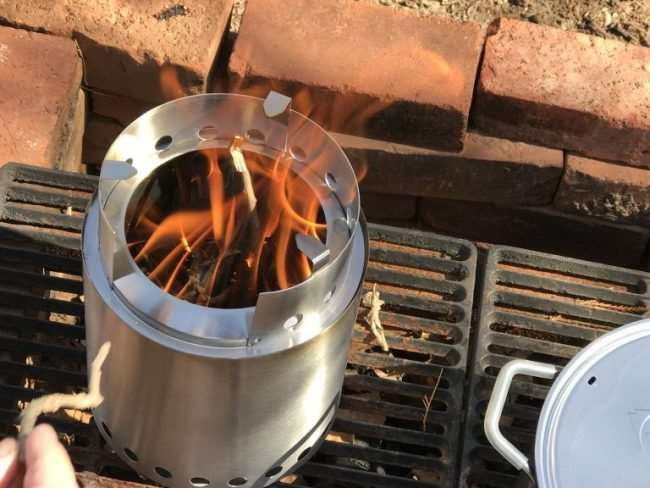 Fuel Outdoor Adventures with the Solo Stove Titan - This modern wood burning camping stove makes cooking meals outdoors easy and efficient