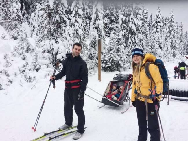 Cross country skiing as a family is a great winter activity and can be a lot of fun. Here are 5 benefits to getting out skiing with the kids