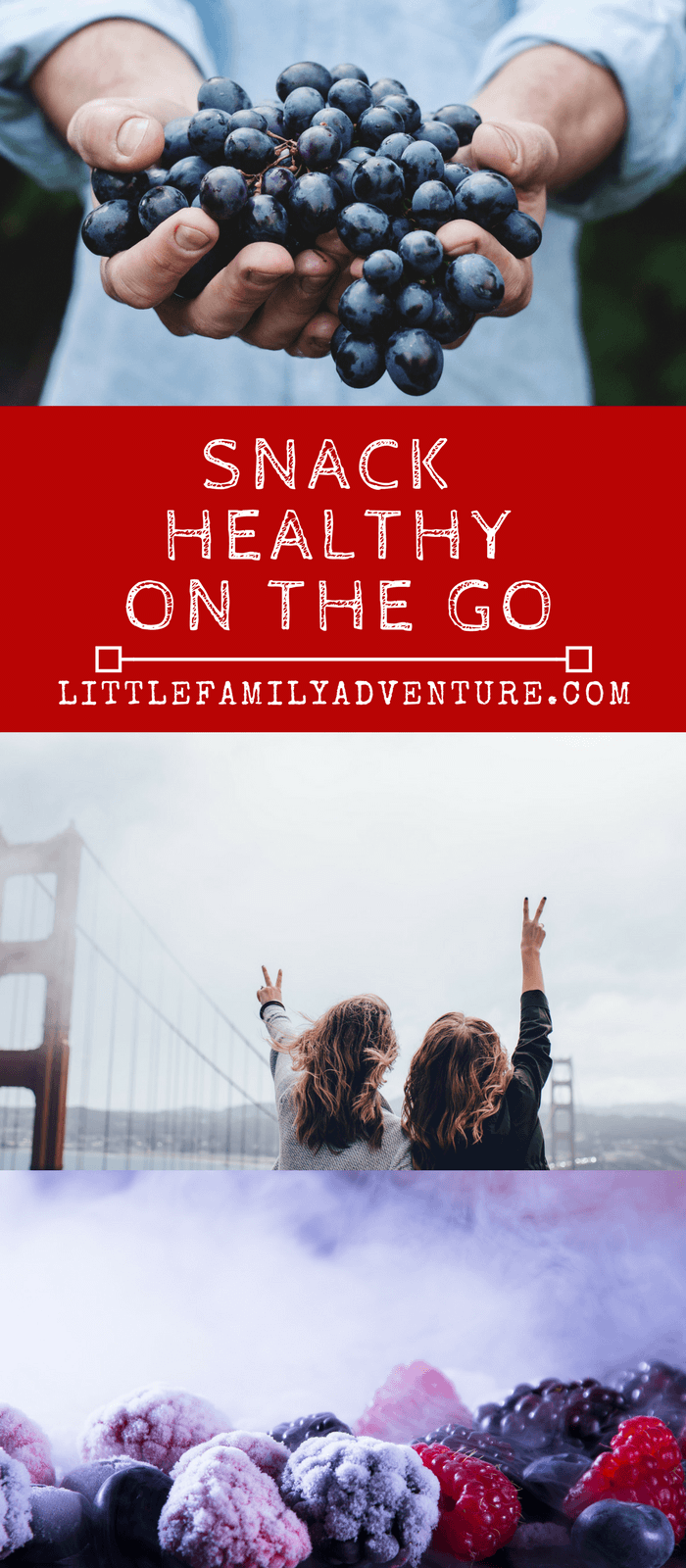 10 easy ways to snack healthy on the go - Here are a few simple things you can do you eat healthier, real food on the go, on a road trip, while you travel, or are just out running errands