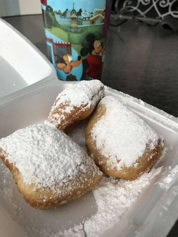 Port Orleans Riverside Resort at Disney World - Fresh Beignets
