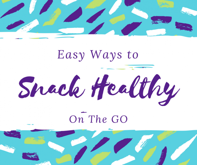 snack healthy on the go