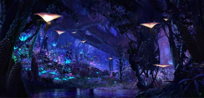 Image Na'vi River Journey in Pandora – The World of AVATAR at Disney's Animal Kingdom - Credit: Disney Parks