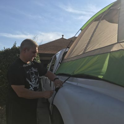 Taking Car Camping to a New Level with Napier Tent
