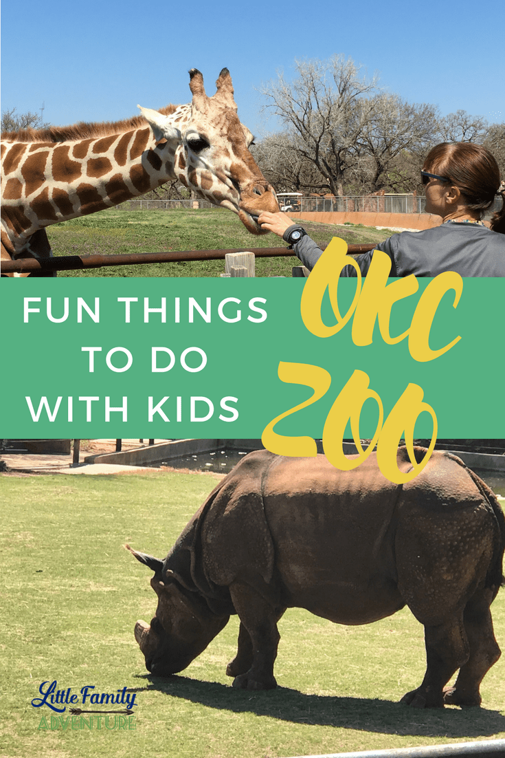 Our Day At the Zoo - 5 Things Not to Miss at the Oklahoma City Zoo - Here are few fun kid-friendly activities the family will love