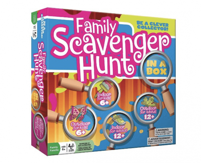 Favorite Finds for Family Game Night - Family Scavenger Hunt