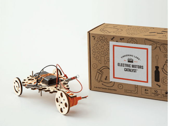 Favorite Finds for Family Game Night - Electric Motors Catalyst from Tinkering Labs