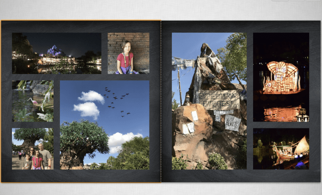 Gifts For Women Who Love the Outdoors - Mixbook Photo Keepsake book from our trip to Disney World and the Disney Cruise Line