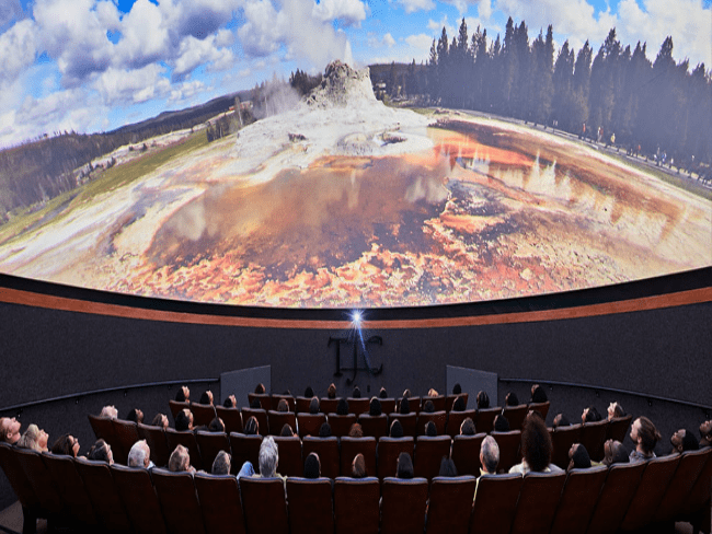 Planiterium Tyler Science Center Learning Movies