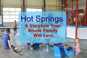 Lava Hot Springs, Idaho, family vacation destination