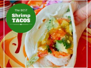 Skewered Shrimp Tacos