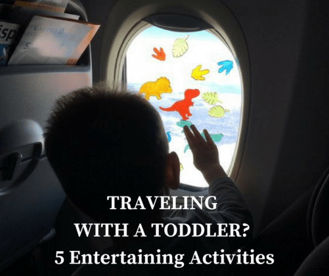5 Activities To Keep Your Toddler Entertained While Traveling