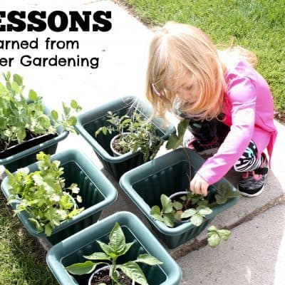 5 Lessons Learned from Starting a Kids Garden