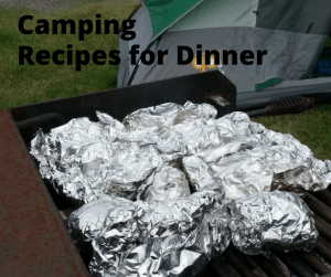 Foil camping packets - Camping Food that is good for lunch or dinner- delicious recipes for your next camp out