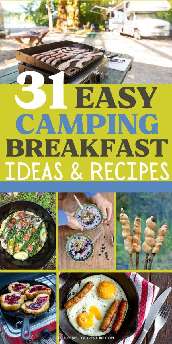 camp breakfast foods