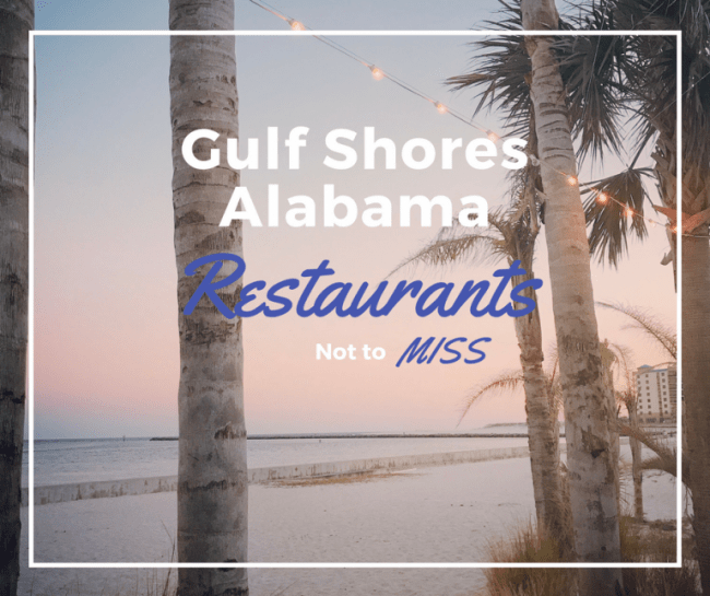 Orange Beach and Gulf Shores AL Restaurants